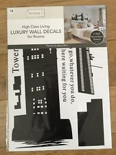 DUNELM Luxury Wall Decals. Wall Stickers For Rooms.