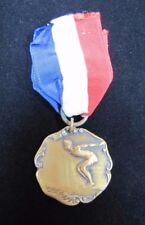 1930 The Ny Edison Co 50 yd Breast Stroke Sports Award Medallion Dieges & Clust