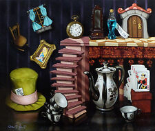 """Disney Fine Art """"THINGS FROM WONDERLAND Size: 13 x 15 