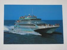 Vtg Postcard Quicksilver's Wavepiercers Boat Port Douglas Australia
