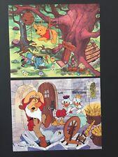 Sierra Leone 1985 Disney Sheets MNH