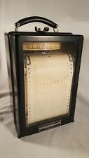 Esterline Angus AW Vintage Graphic Recorder DC Ammeter 0-400 Great Condition!