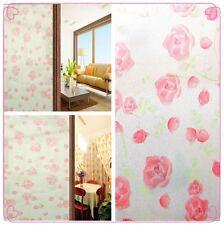 Intimité givré verre décoratif film fenêtre salle de bain bureau Stickers PVC 60