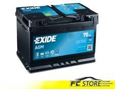 Autobatterie Exide 70 Ah EK700 760 Stichwort AGM Start & Stop 278 x175x190 Auto