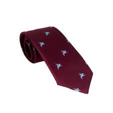 Royal Artillery Maroon Bespoke Tie