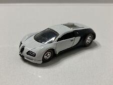 Hot Wheels CUSTOM 1:64 Bugatti Veyron Black / White Panda W/  Real Riders 1 Of 1