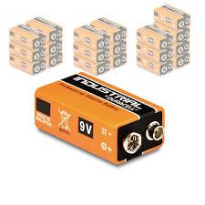 20x Duracell 9v Block Industrial Batterie 6lr61 Mn1604 E-block Alkaline