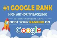 Improve google ranking- SEO-50 Backlinks high DA with Indexation Do follow