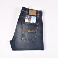29353 Nudie Jeans Steady Eddie Compact Vintage Blau Herren Jeans IN Größe 34/36