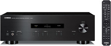 Yamaha A-S201 Amplificador estéreo integrado de sonido natural negro AS201 a s 201