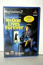 THE OPERATIVE NO ONE LIVES FOREVER GIOCO USATO BUONO PS2 EDIZIONE ITALIANA GS1