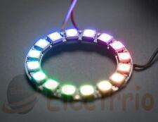 Anillo RGB 16 LED arduino 16bit Electrónica color ring WS2812B EL0499