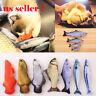 US Pet Cat Kitten Chewing Toys Stuffed Fish Mint Pet Interactive Kitten Product