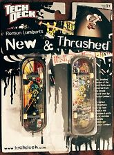 Tech Deck New & Thrashed 96mm Fingerboard Ronson Lambert Two Finger Skateboards