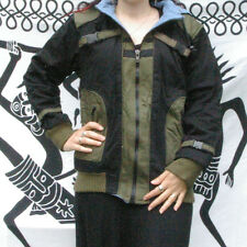 BLOUSON  FEMME CAPUCHE noir kaki  Taille L  40  NEUF népalais vetement hiver