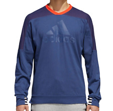 NWT Men's ADIDAS Fleece Crew-neck Sweatshirt size Large