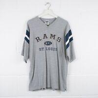 Vintage Los Angeles Rams St Louis NFL LEE SPORT T-Shirt Size Men's Large /R4064