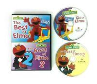 Sesame Street The Best of Elmo DVD Volume 1 & 2! Education Children's Learning