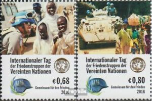 UN - Vienna 918-919 (complete issue) unmounted mint / never hinged 2016 Day the