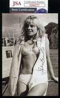 Julie Christie JSA Coa Signed 4x6 Photo Autograph