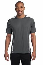 Mens Sport-Tek Competitor Colorblock Dry Fit Performance Wicking T-shirt ST351