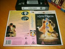 VHS *A LITTLE PRINCESS* 1996 Australian Warner Video 1st Issue - Family Classic!
