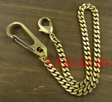 Solid Brass Lobster clasps Snap hook Fob key chain ring holder wallet clip
