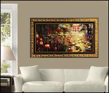 James Coleman Large Giclee On Canvas Hand Embellished Landscape Disney Painting