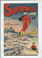 SUPERSNIPE VOL. 4 #4 (6.0) THE BOY WITH THE MOST COMIC BOOKS IN THE WORLD!