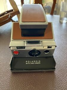 Polaroid SX-70 Land Camera Vintage With Case Working Condition See Description