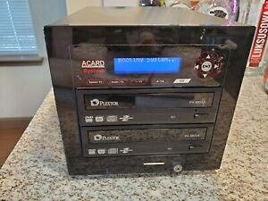 Acard CD/DVD Disc Duplicator Lightscribe Burner ACS-7101P Plextor PX-880SA