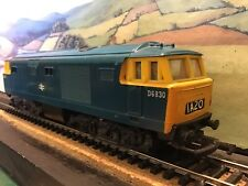 Hornby R758 Hymek Class 35 B.R blue. Incorrectly numbered. D6830.!!. Boxed.