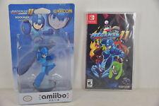 Switch NS Megaman 11 Mega man Rock man + Rockman 11 Amiibo (US, ENG/ CHI/ JAP)