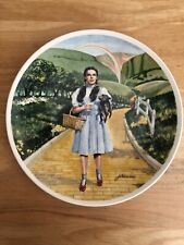 Wizard of Oz Knowles Collector Plate Auckland Dorothy Over the Rainbow Toto 1977