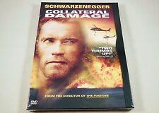 Collateral Damage DVD Arnold Schwarzenegger, Elias Koteas, Francesca Neri