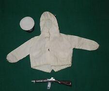Original 1960's GI Joe Ski Patrol Jacket Navy Dress Hat and Rifle Hong Kong