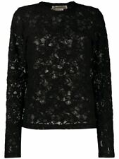 NEW Comme Des Garçons All-over Lace Pullover Top Size:S BNWT RRP:£329 Fast Deli