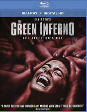 New Sealed The Green Inferno Blu-Ray Digital HD Director's Cut SS Eli Roth