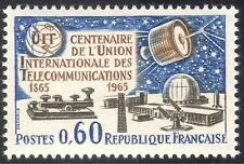 France 1965 ITU/Communications Satellite/Space/Morse Key/Telecomms 1v (n23479)