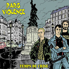 PARIS VIOLENCE Temps de crise LIMITED ISSUE 150! 3x gatefold 2xLP hazed vinyl!