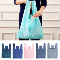 Eg _ Neuf Imperméable Oxford Tissu Courses Pliable Sac Shopping Pochette à Mai