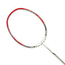 Yonex NANORAY I-SPEED Badminton Racket White Red Racquet String 3UG5 Free Cover