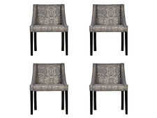 4x Chairs Chair Pads Design Lounge Seat Lehn Set Armchair in Stock