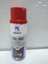 FARBE KARMINROT ROT RAL 3002 LACK LACKSPRAY SPRAY SPRAYDOSE 400ML (C71)