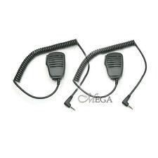 2pcs x Ptt Speaker-Mic 41-27B for Baofeng Uv-100 Uv-200 Uv-3R (106304)