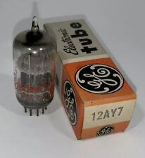 12AY7 GE Short Plate Tested Balanced HiFi Amp Audio Radio Valve Vacuum Tube