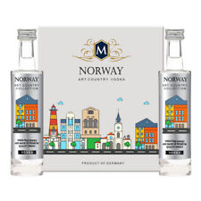 Tipo Country vodka Norway PLATINUM COLLECTION 2x5cl miniature GERMANY