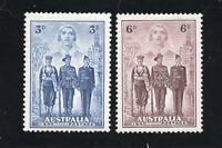 Australia - SG# 198 & 199 MLH       -      Lot 0120116
