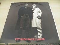 "PET SHOP BOYS SO HARD   12"" VINYL RECORD"