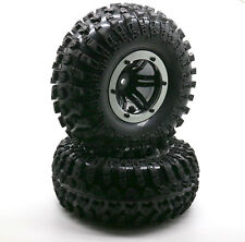 "4PCS 2.2"" Inflatable Tires W/ Alloy Beadlock Wheels 1/10 RC Crawler CAR 3022SR"